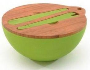 Миска с крышкой и сервировочным набором Cook&Co (4 пр.) 2800049